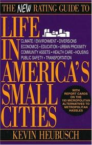 Cover of: The new rating guide to life in America's small cities