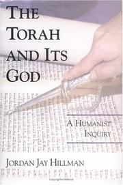 Cover of: The Torah and Its God | Jordan Jay Hillman