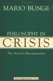 Cover of: Philosophy in Crisis