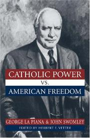 Cover of: Catholic power vs. American freedom
