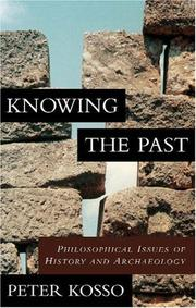 Cover of: Knowing the past