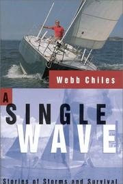 Cover of: A Single Wave | Webb Chiles