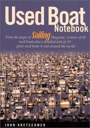 Cover of: Used Boat Notebook
