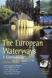 Cover of: The European Waterways
