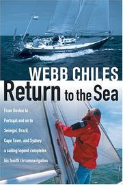 Cover of: Return To The Sea | Webb Chiles