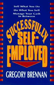 Cover of: Successfully self-employed | Gregory Brennan