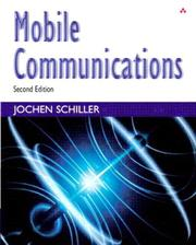 Cover of: Mobile Communications | Jochen Schiller