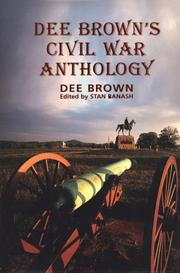 Cover of: Dee Brown's Civil War anthology