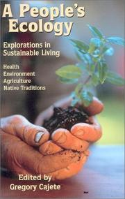Cover of: A People's Ecology