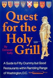 Cover of: Quest for the holy grill