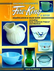 Cover of: Anchor Hocking's Fire-King & more