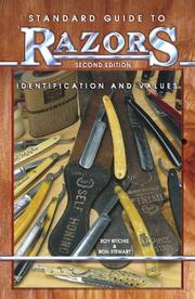 Cover of: Standard guide to razors | Roy Ritchie