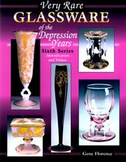 Cover of: Very Rare Glassware of the Depression Years