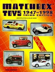 Cover of: Matchbox toys, 1947 to 1998