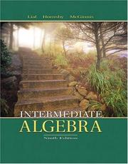Intermediate algebra by Margaret L. Lial
