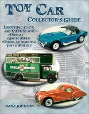 Cover of: Toy car collector's guide