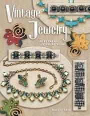 Cover of: Vintage Jewelry for Investment and Casual Wear | Karen L. Edeen