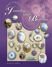 Cover of: Painted Porcelain Jewelry and Buttons | Dorothy Kamm