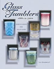 Cover of: Glass Tumblers