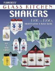 Cover of: Florences' glass kitchen shakers, 1930-1950s