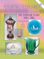 Cover of: Westmoreland glass