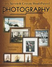 Cover of: Early twentieth century hand-painted photography