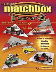 Cover of: The other Matchbox toys 1947 to 2004