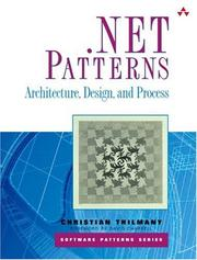 Cover of: .NET Patterns | Christian Thilmany