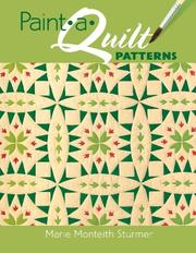 Cover of: Paint-a-Quilt Patterns | Marie Monteith Sturmer