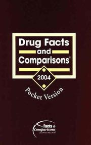 Cover of: Drug Facts and Comparisons 2004 | Facts and Comparisons