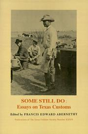 Cover of: Some Still Do