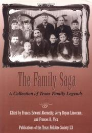 Cover of: The family saga |