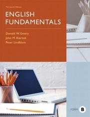 Cover of: English fundamentals, form B