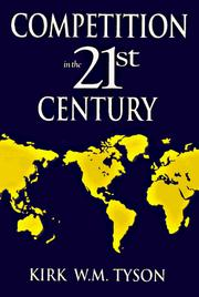 Cover of: Competition in the 21st century