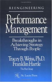Cover of: Reengineering performance management