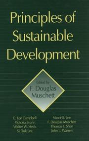 Cover of: Principles of sustainable development |