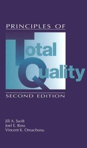 Cover of: Principles of Total Quality, Second Edition | Jill Swift
