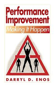 Cover of: Performance improvement--making it happen