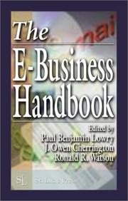 Cover of: The e-business handbook by