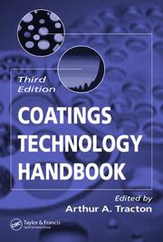Cover of: Coatings Technology Handbook