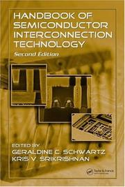 Cover of: Handbook of semiconductor interconnection technology |