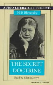 Cover of: The Secret Doctrine |