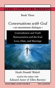 Cover of: Conversations with God: An Uncommon Dialogue: Book Three, Audio Volume II