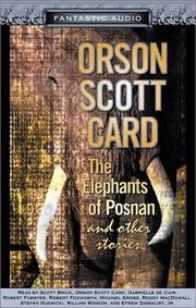 Cover of: The Elephants of Posnan |