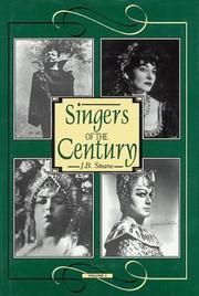 Cover of: Singers of the Century, Volume II (Vol 2)