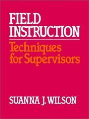 Cover of: Field Instruction