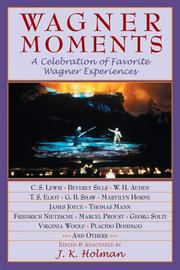 Cover of: WAGNER MOMENTS