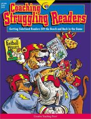 Cover of: Coaching Struggling Readers | Margaret Allen