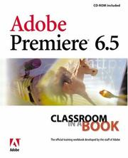 Cover of: Adobe Premiere 6.5 by