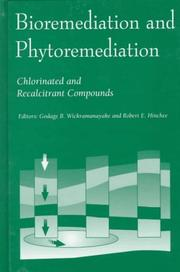 Cover of: Bioremediation and Phytoremediation